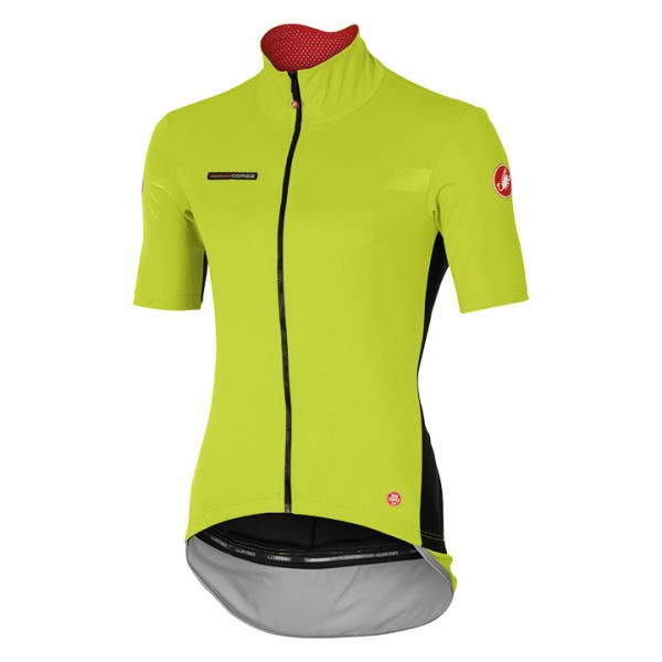CASTELLI Light Jacket met korte mouwen Perfetto Light neongeel D1386P6212