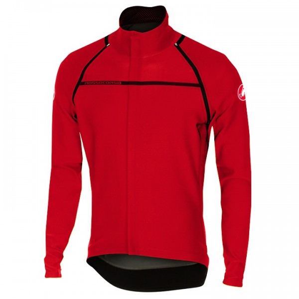 CASTELLI Light Jacket/shirt met korte mouwen Perfetto Convertible rood L4511V8454