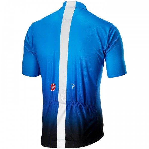 2019 Team Sky Fan Training fietsshirt met korte mouwen Y5227U6730