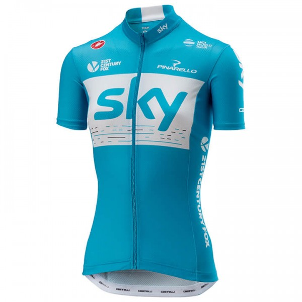 2018 Team Sky Training fietsshirt J1076V7035