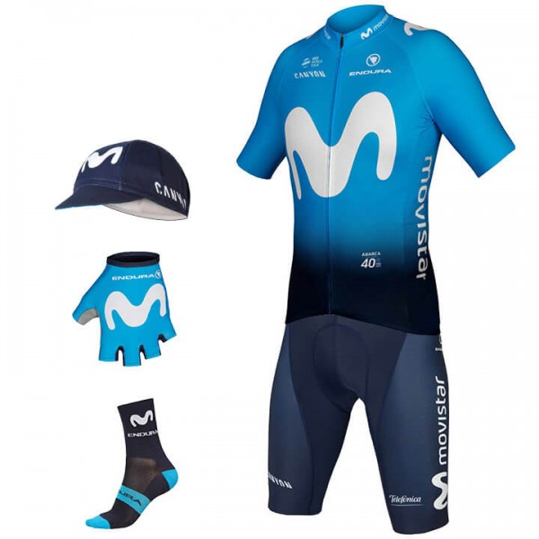 2019 MOVISTAR TEAM Maxi-Set (5 stukken) D1597A2106