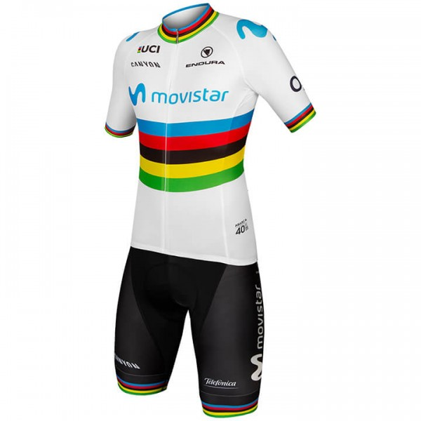 2019 MOVISTAR TEAM Wereldkampioen Set (2 stukken) K2750P9967