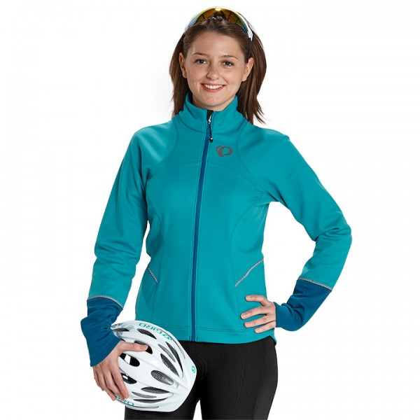 PEARL IZUMI winterjack Elite Escape Softshell turkoois-blauw E2380Y1449