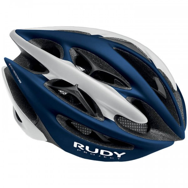 2019 RUDY PROJECT Fietshelm Sterling + wit - blauw R6360R3439
