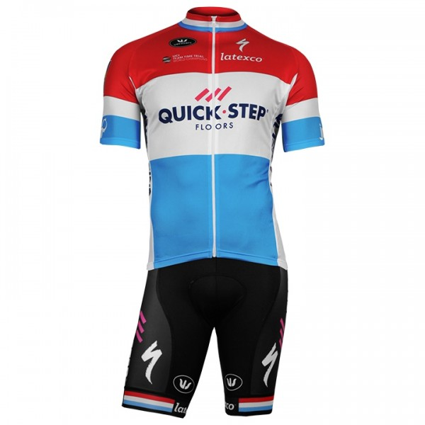 2018 QUICK - STEP FLOORS Luxemburgse kampioen Set (2 stukken) P7611L5680